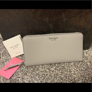 Kate Spade Cameron Continental Wallet Soft Taupe